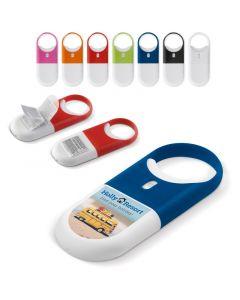 Aurinkorasvakotelo 30 SPF digipainetulla logolla, väri- ja painomallit