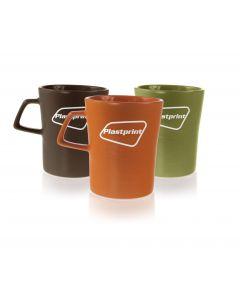 Kahvimuki Forest värivaihtoehdot: ruskea, oranssi ja vihreä