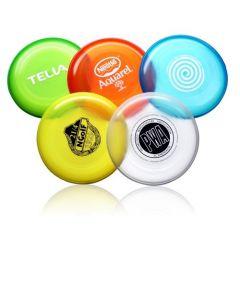 Läpinäkyvät värit muovinen frisbee