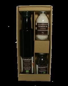 Lahjasetti oliiviöljy + Suola ja pippuri