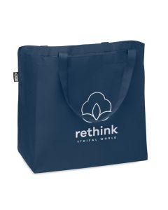 Rantakassi / ostoskassi, kierrätettyä RPET-materiaalia