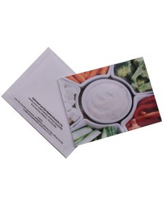Dippikastikeaineet postitettavassa pussissa