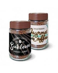 Suklaa-pikakahvi 50 g omalla etiketillä
