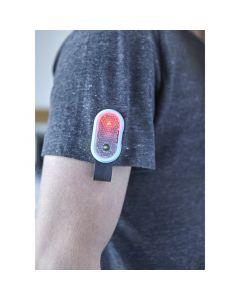 Ledvalo-prirmaheijastin 2 valotoiminnolla, magneettikiinnityksellä, vaihdettava patteri